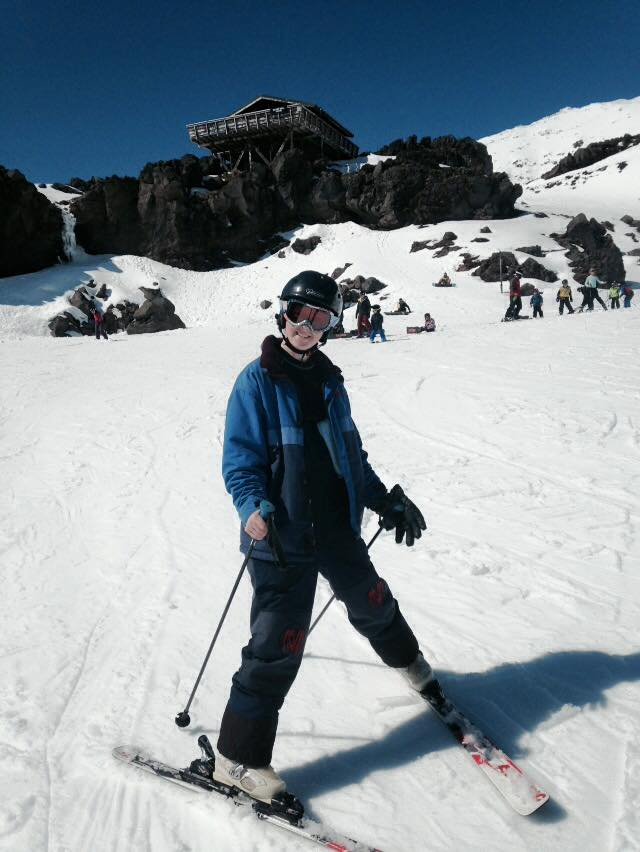 Skiing on Mt Ruapehu